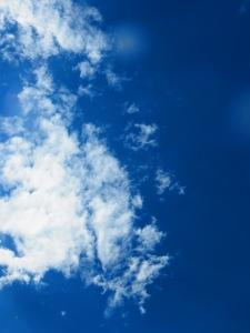 Love the sky! So blue!